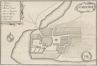 kort over nakskov